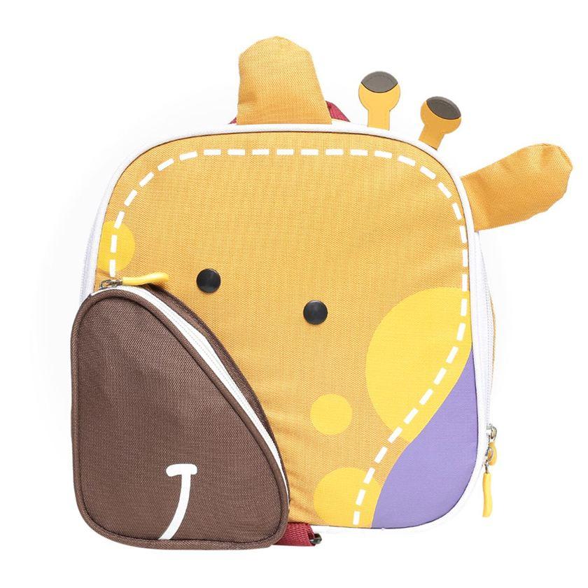 Miniklub Unisex Yellow Printed Bag