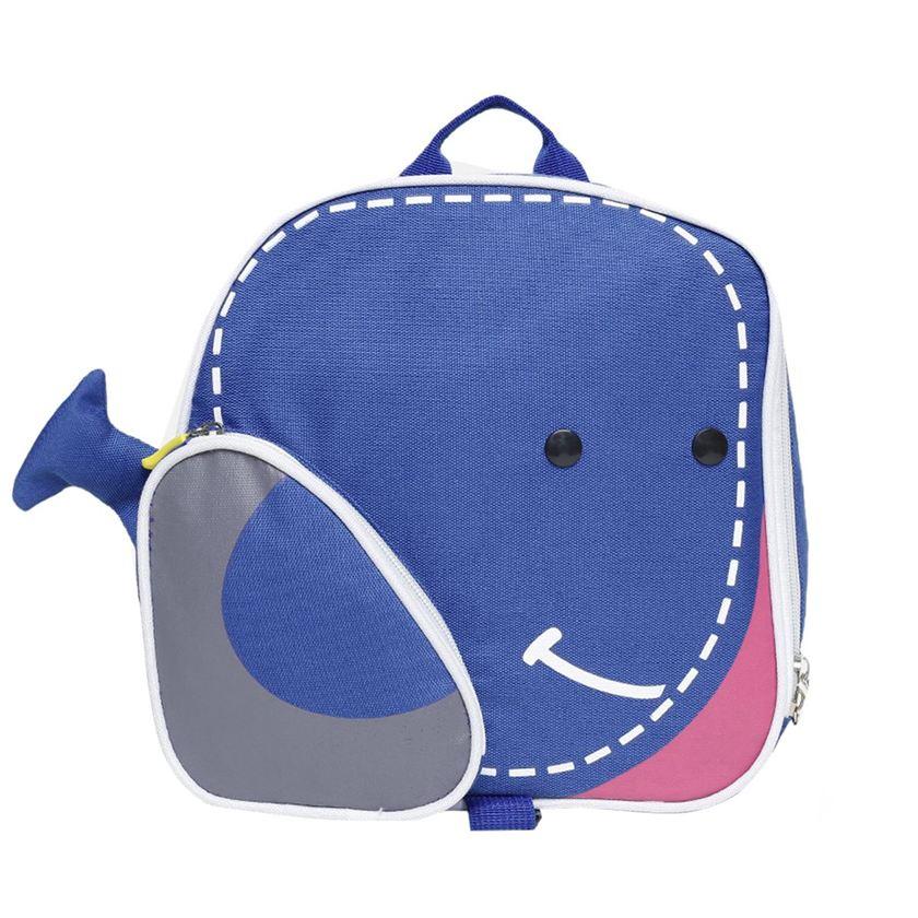 Miniklub Unisex Blue Printed Bag
