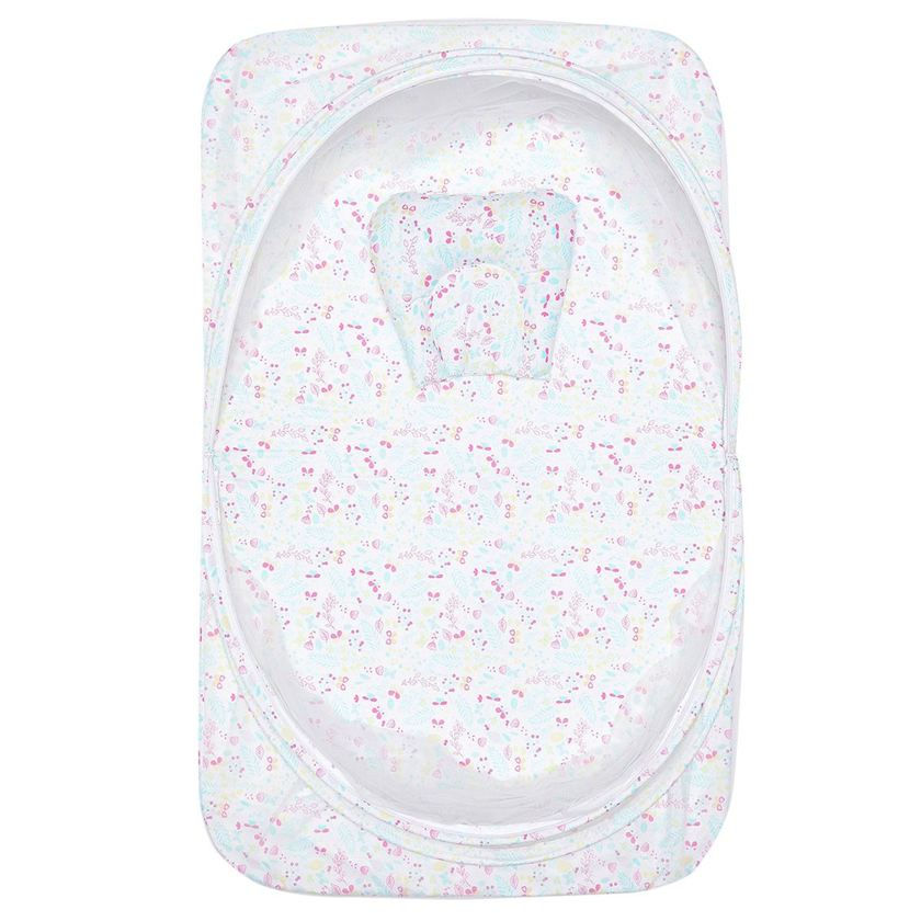 Miniklub Unisex Printed Multicolor Pack of Net Top for Bedding, Toy & Pillow