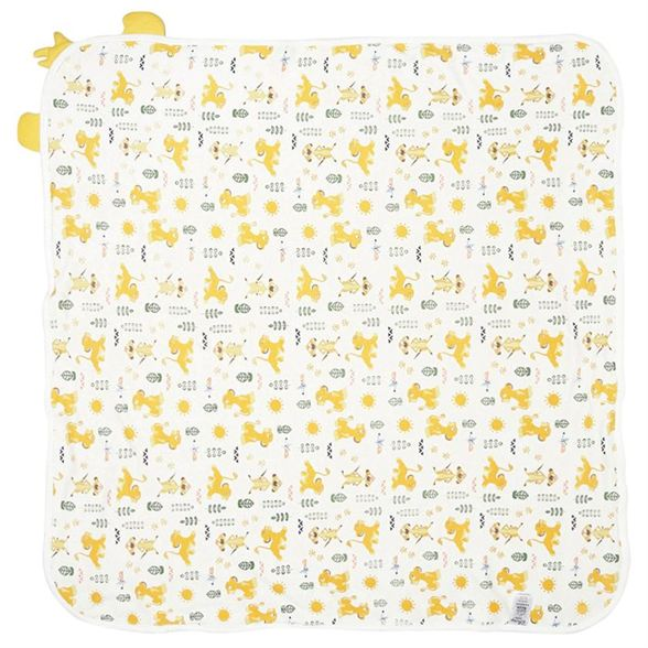 Miniklub Unisex Solid Yellow Towel