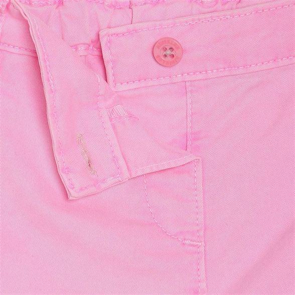 Miniklub Girls Pink Solid Shorts