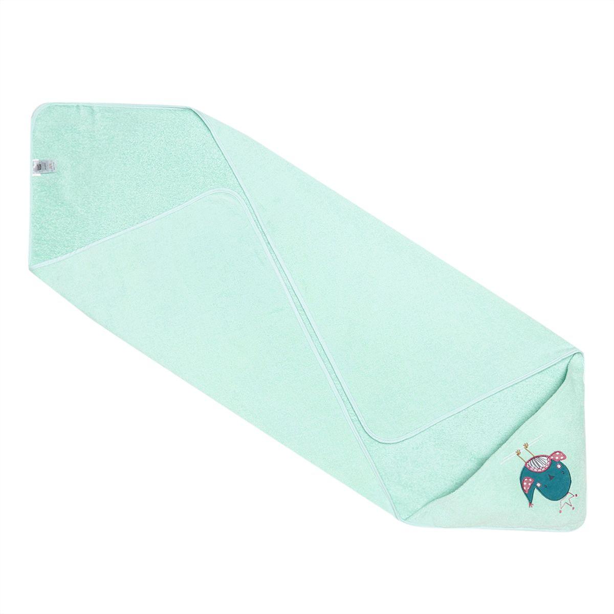 Miniklub Unisex Solid Green Towel