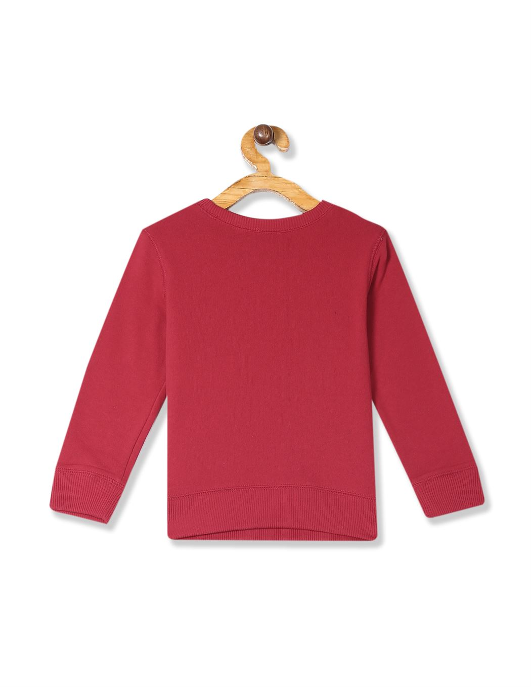 The Children's Place Baby And Toddler Boy Red Active Long Sleeve Graphic French Terry Sweatshirt