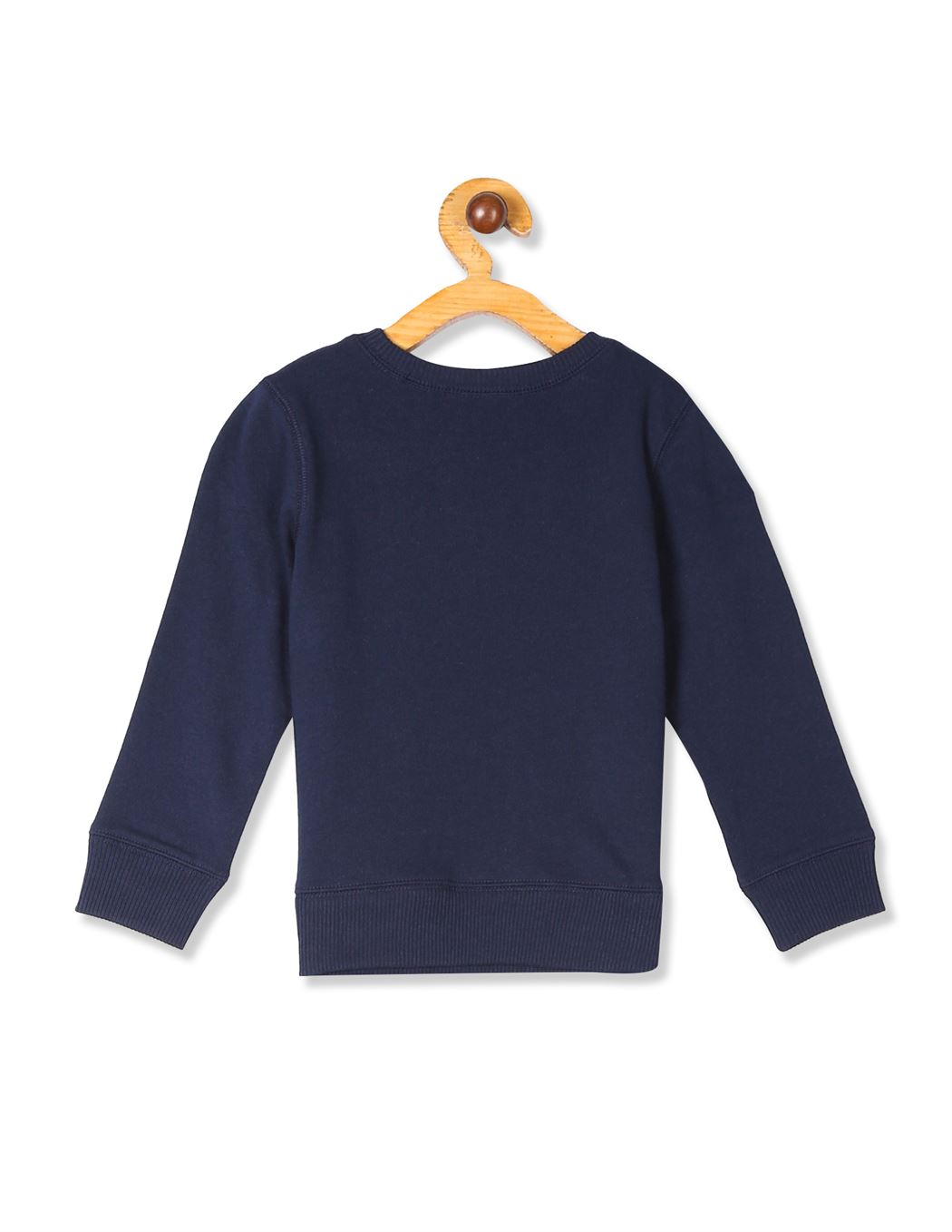 The Children's Place Baby And Toddler Boy Blue Active Long Sleeve Graphic French Terry Sweatshirt