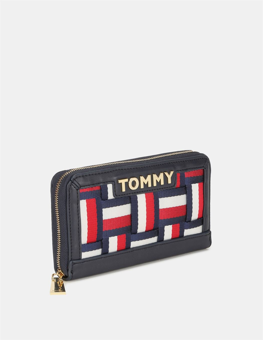 Tommy Hilfiger Women Blue  Wallet With 8  Compartment