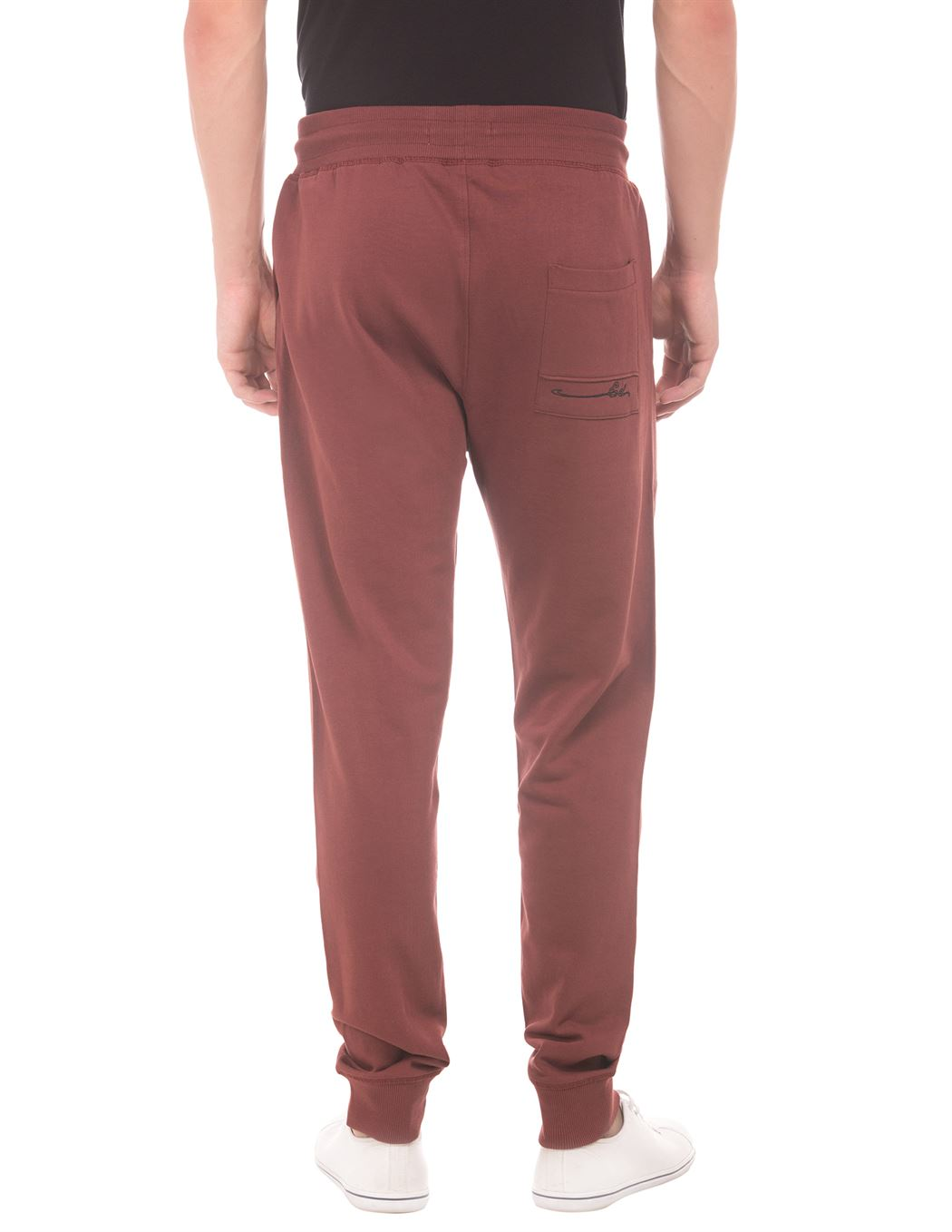 Ed Hardy Men Casual Wear Maroon Jogger