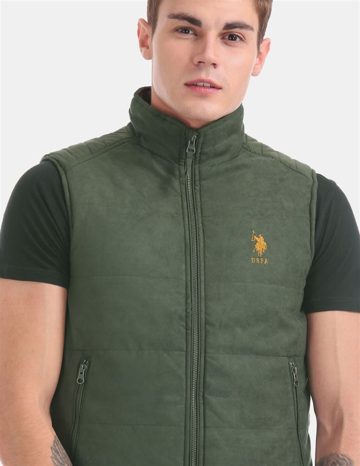 U.S. Polo Assn. Men Casual Wear Green Casual jacket