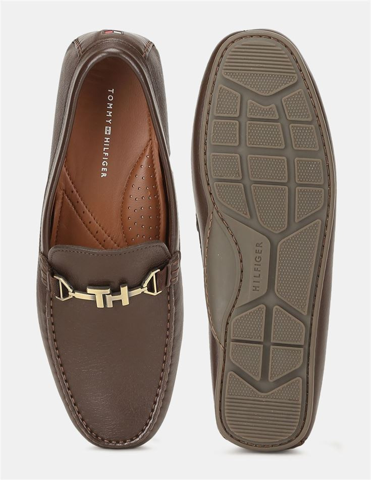 Tommy Hilfiger Men Casual Wear Brown  Shoes
