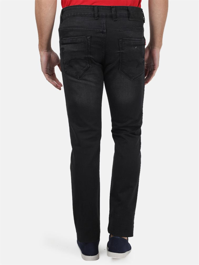 Monte Carlo Men Casual Wear Black Jeans