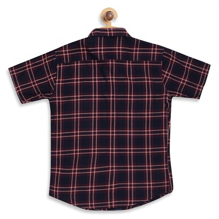 Monte Carlo Boys Checkered  Multicolor Shirt