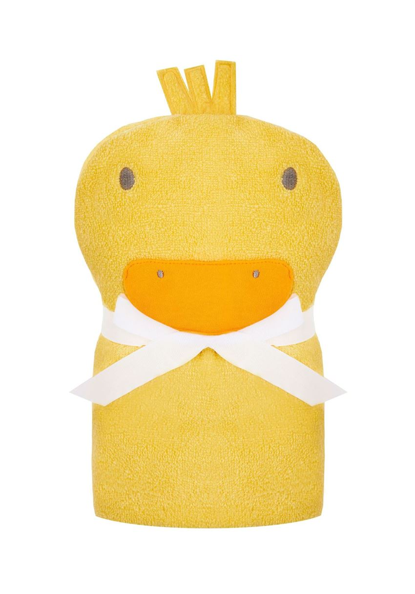 Mothercare Unisex Yellow Textured Swaddle Towel Wrap