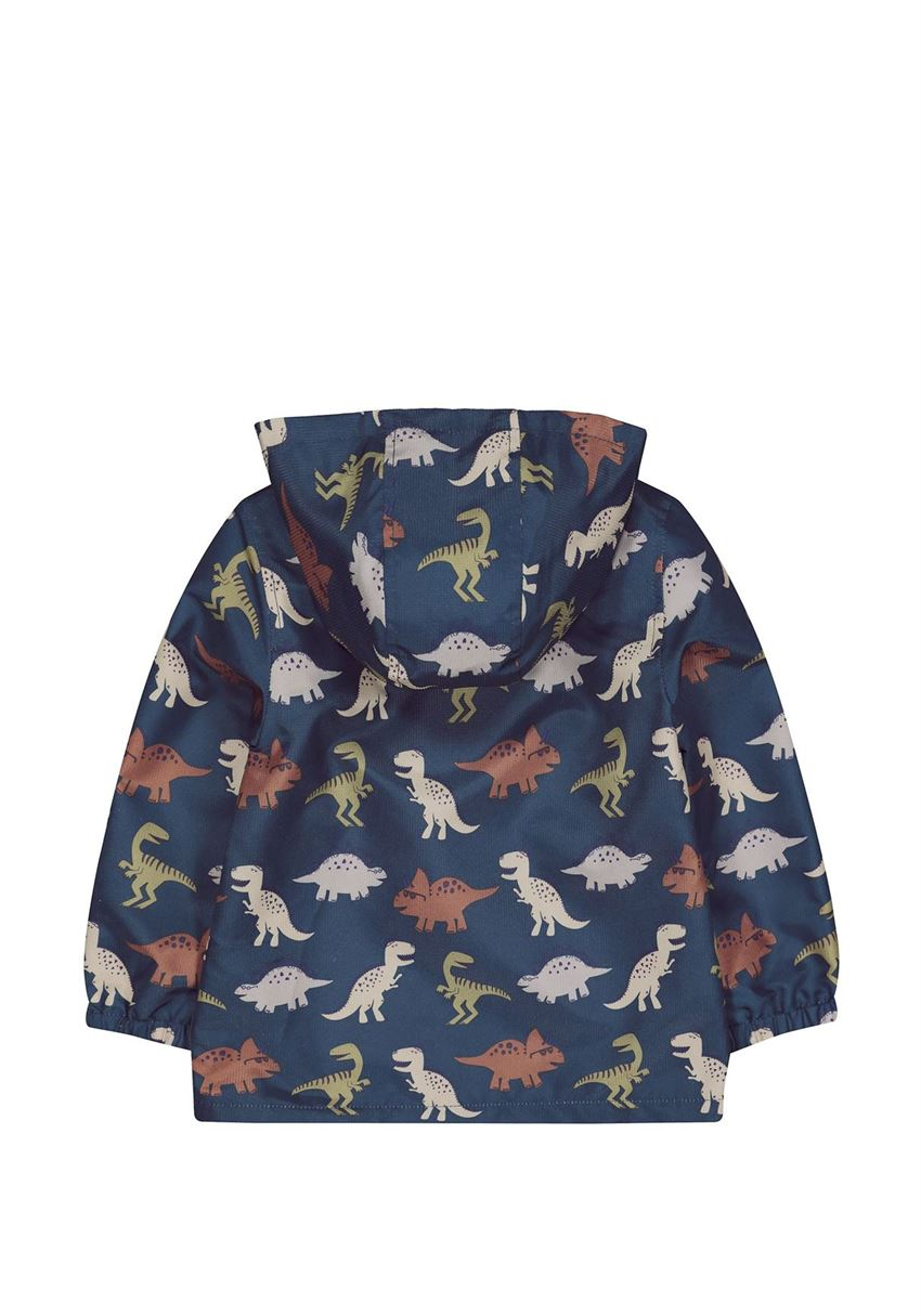 Mothercare Boys Blue Printed Jacket