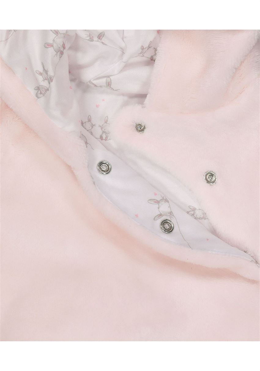 Mothercare Girls Pink Solid Jacket