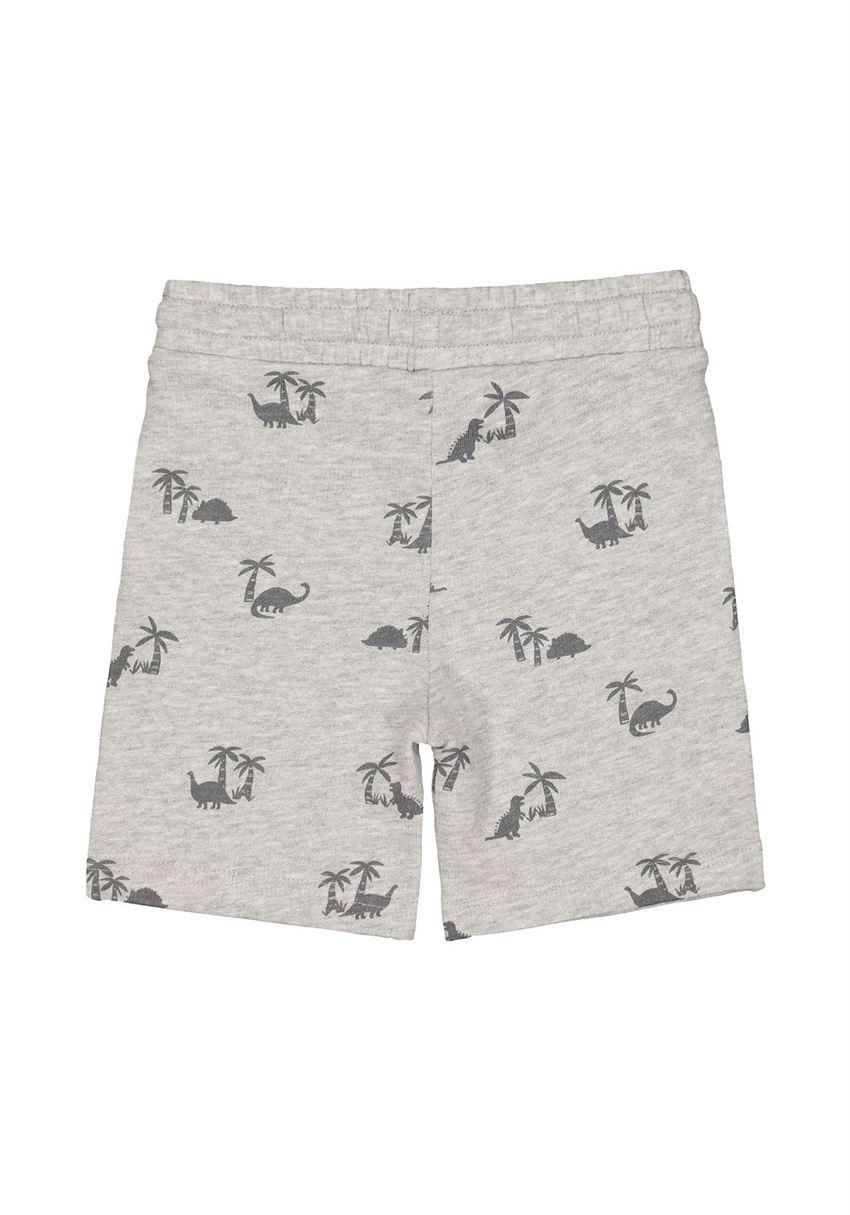 Mothercare Boys Grey Printed Shorts