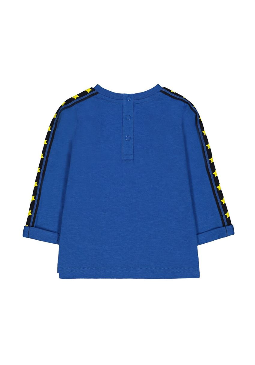 Mothercare Boys Blue Printed T-Shirt