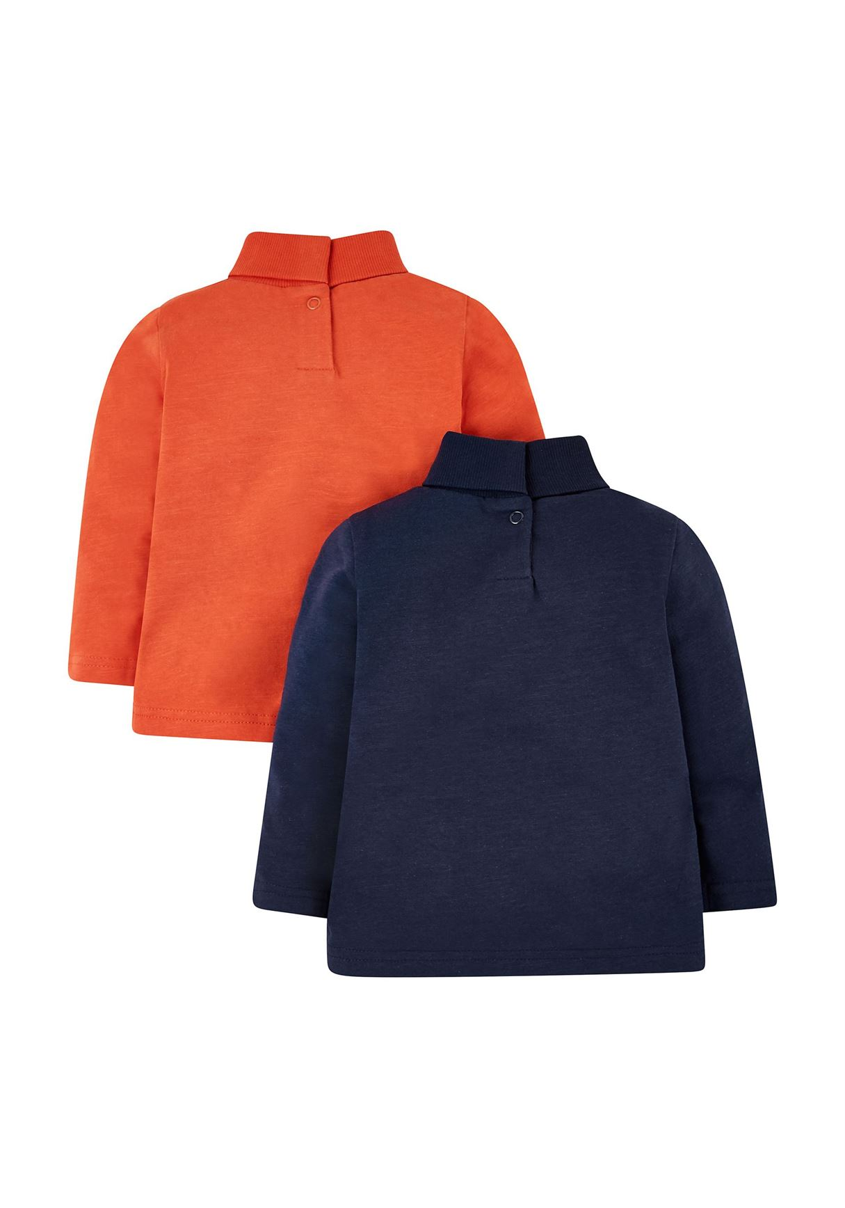 Mothercare Boys Assorted Printed Pack of 2 Pullovers