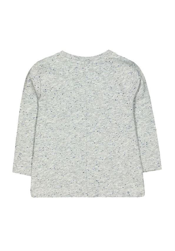 Mothercare Boys Grey Applique T-Shirt
