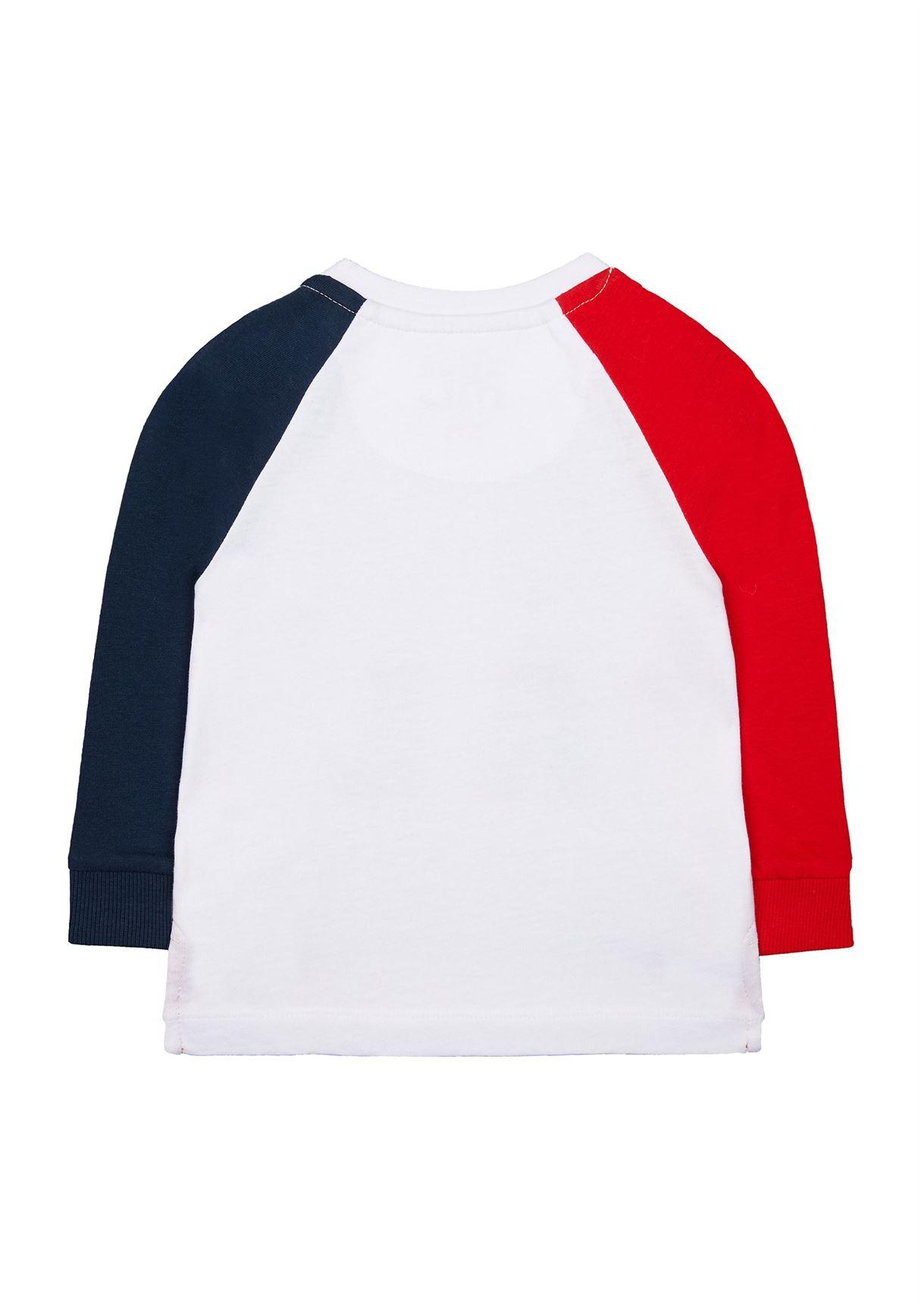 Mothercare Boys Multicolor Color Block T-Shirt