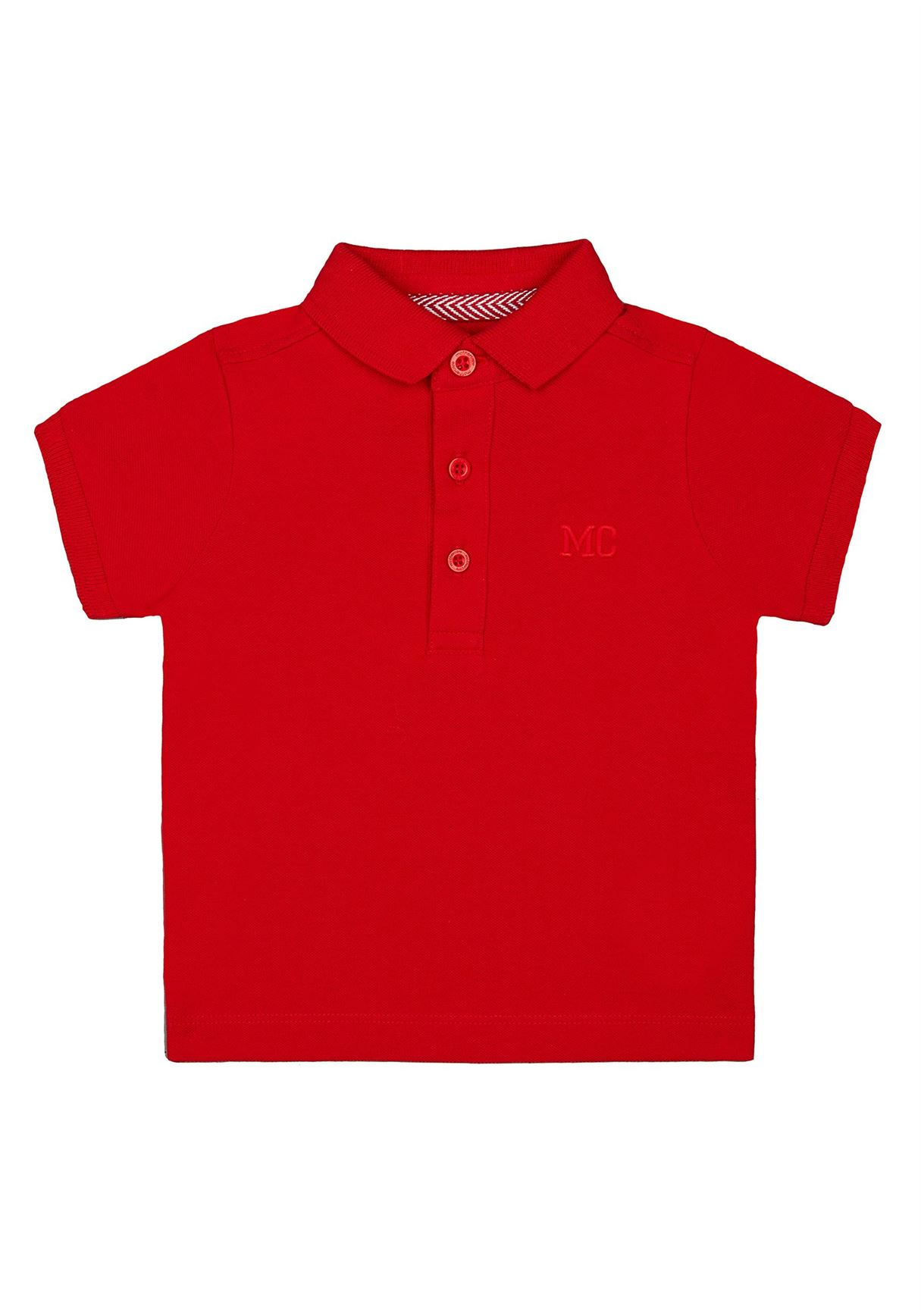 Mothercare Boys Red Solid T-Shirt