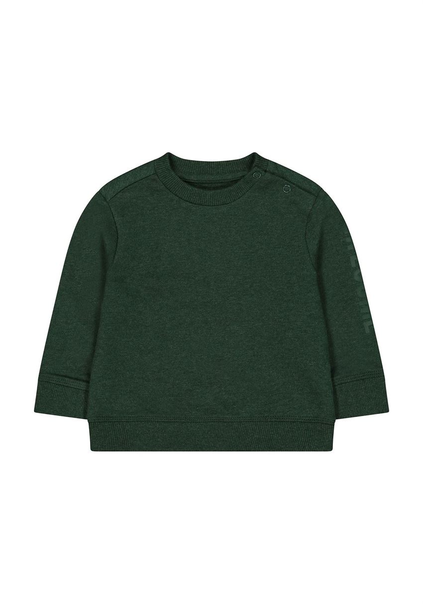 Mothercare Boys Green Solid Sweatshirt