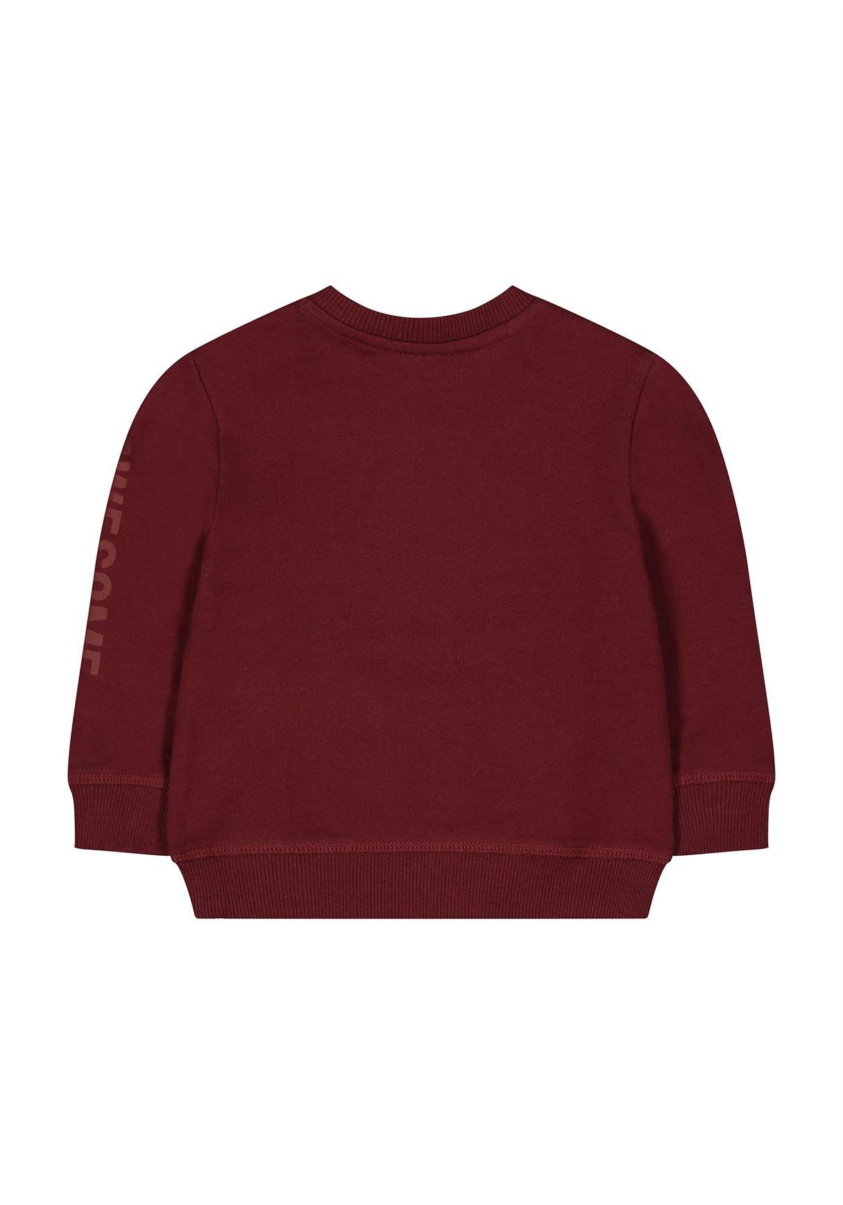 Mothercare Boys Burgundy Solid Sweatshirt