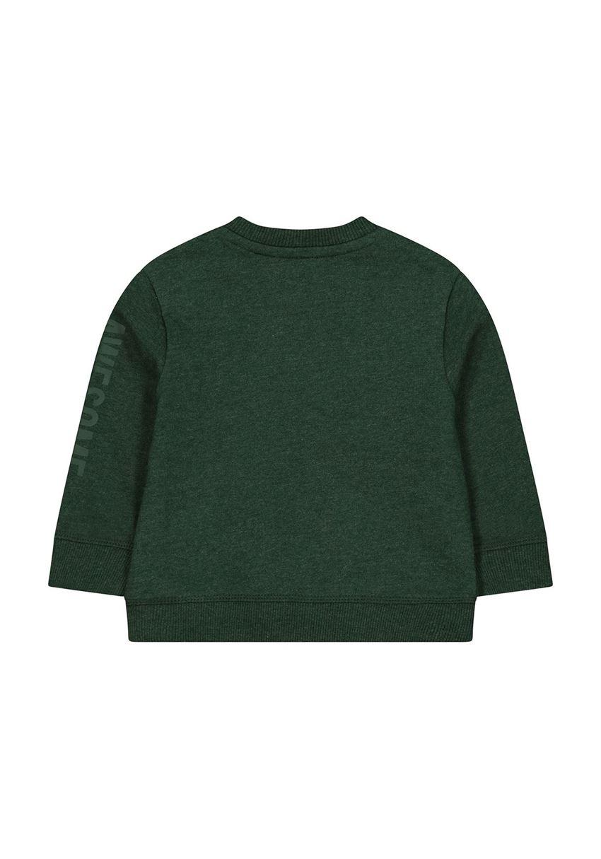 Mothercare Boys Green Solid Sweatshirt