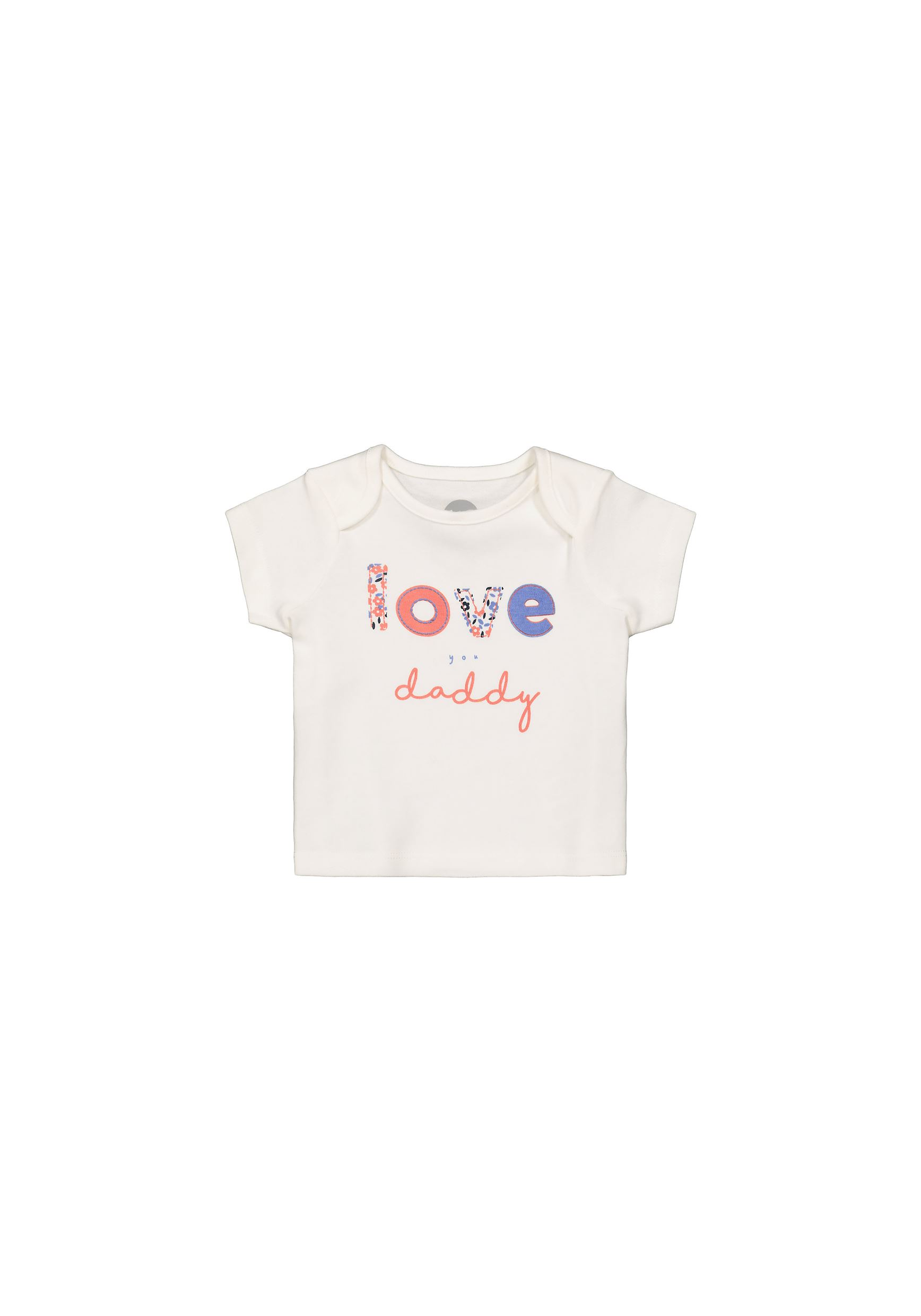 Mothercare Unisex Off White Applique T-Shirt