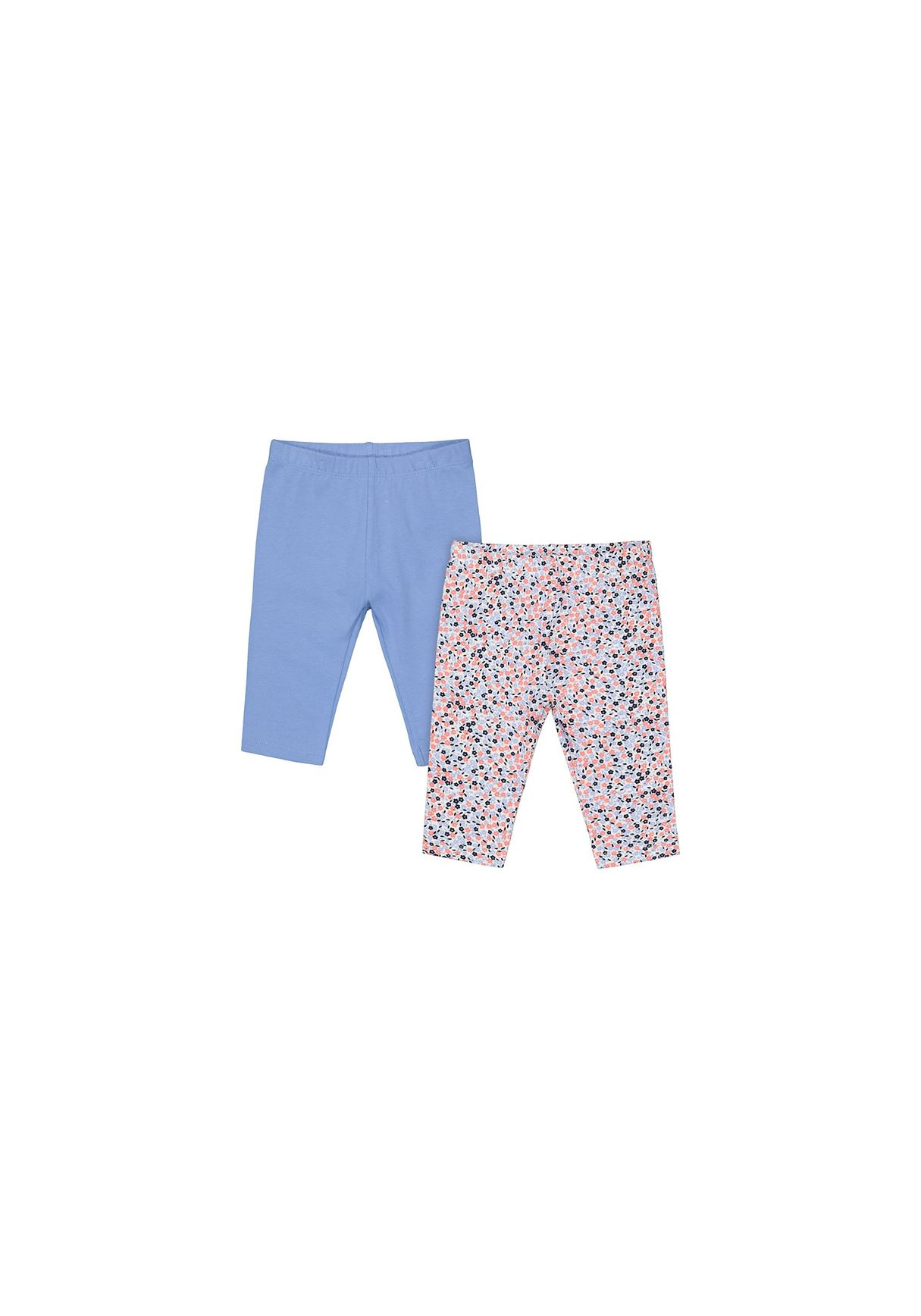 Mothercare Unisex Assorted Printed Pack of 2 Leggings