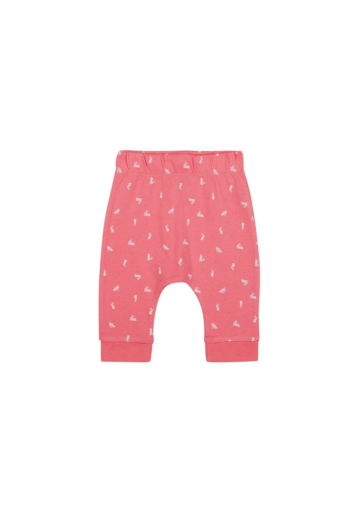 Mothercare Unisex Pink Printed Joggers