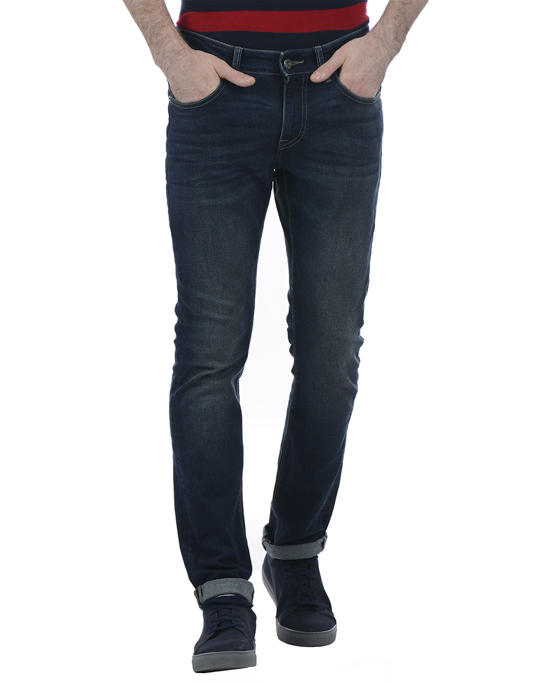 Nautica Men Casual Wear Solid Jean