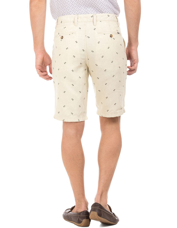 Nautica Men Casual Wear Printed Shorts