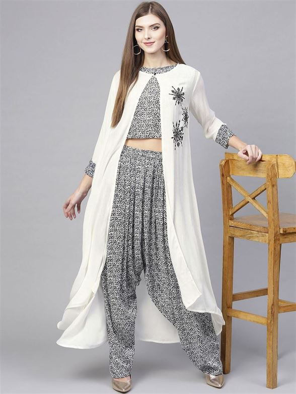 Pannkh Women Ethnic Wear Printed Set