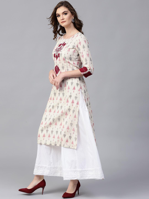 Pannkh Women Ethnic Wear Printed Kurta