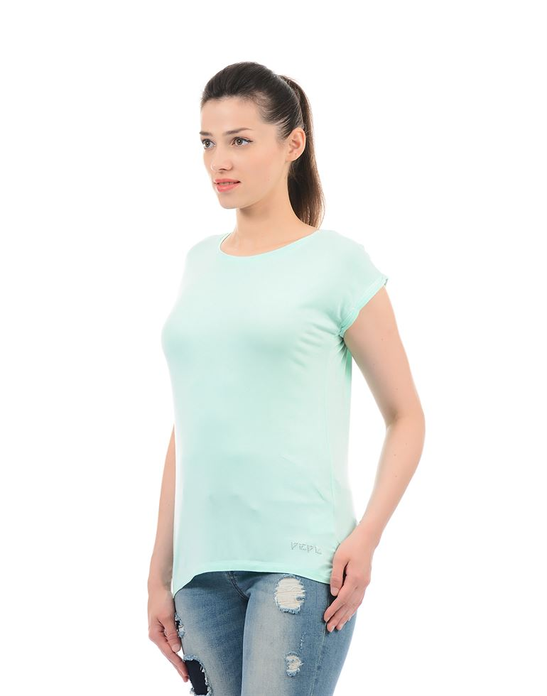 Pepe Jeans Women Solid T-Shirt