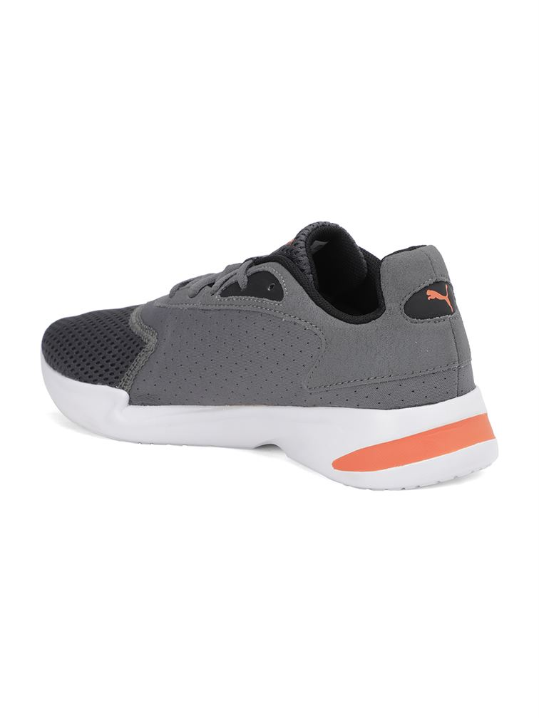 Puma Unisex Grey Casual Wear Sneakers for Kids