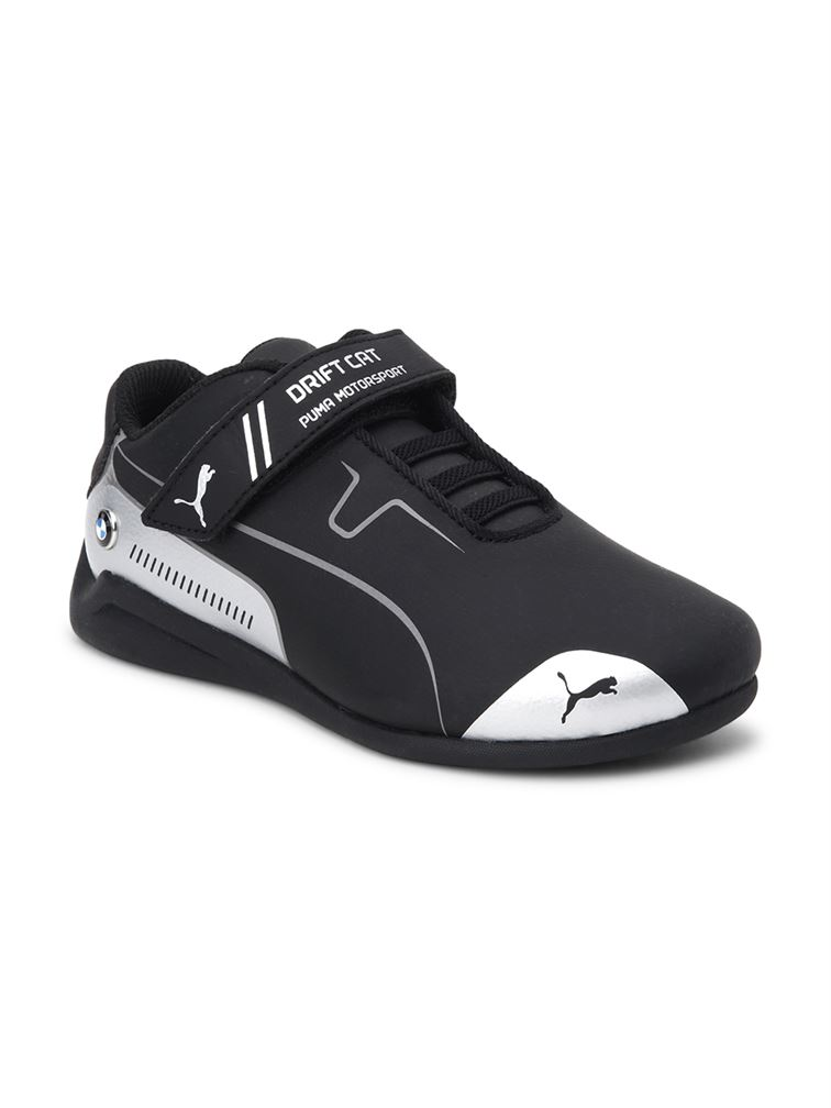Puma Unisex Black Casual Wear Sneakers for Kids