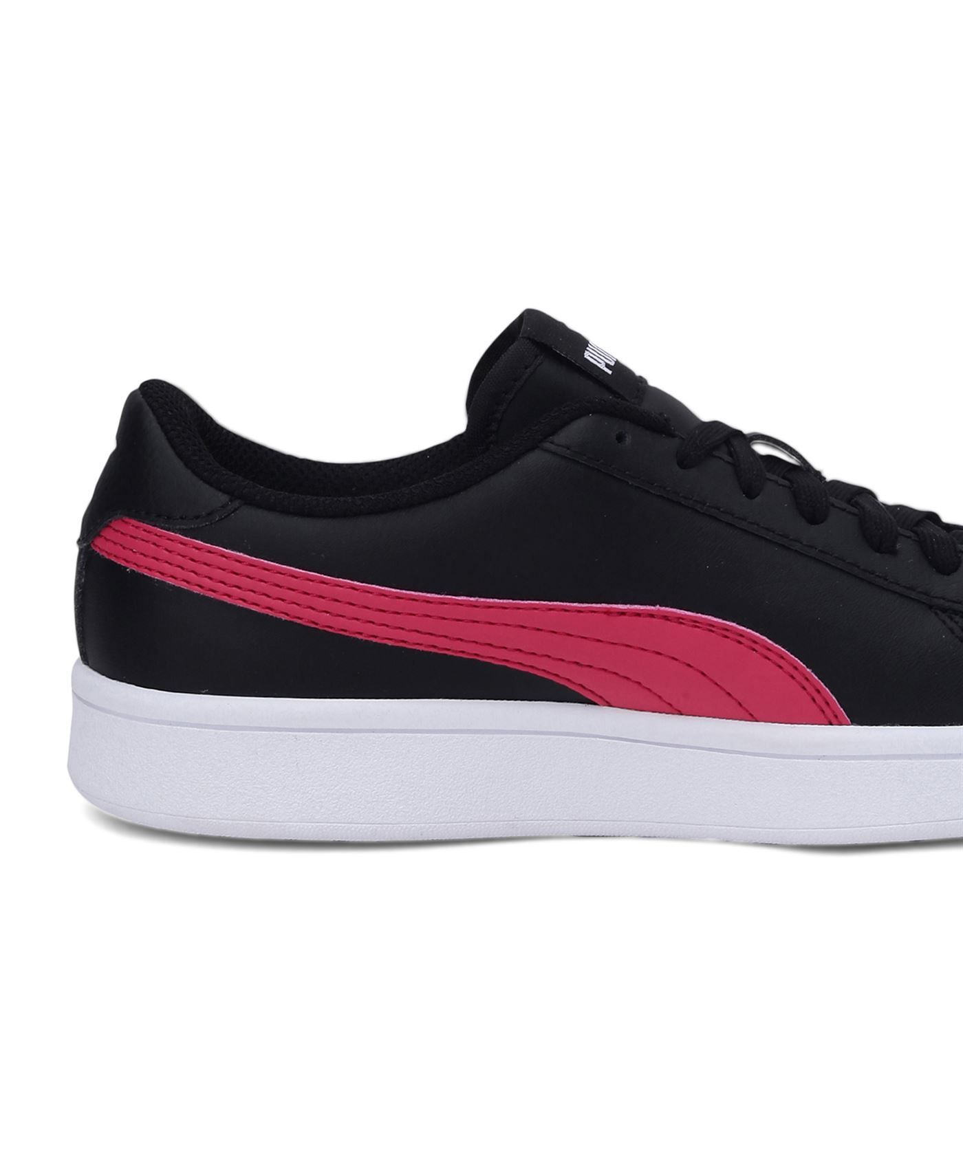 Puma Unisex Black Casual Wear Sneakers for Kids