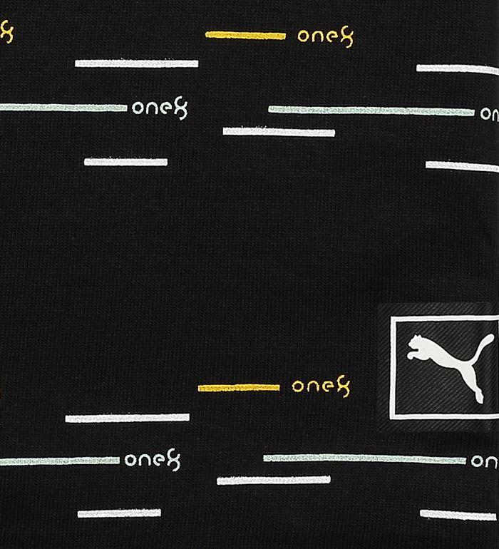 Puma Kids Black Casual Wear T-Shirt