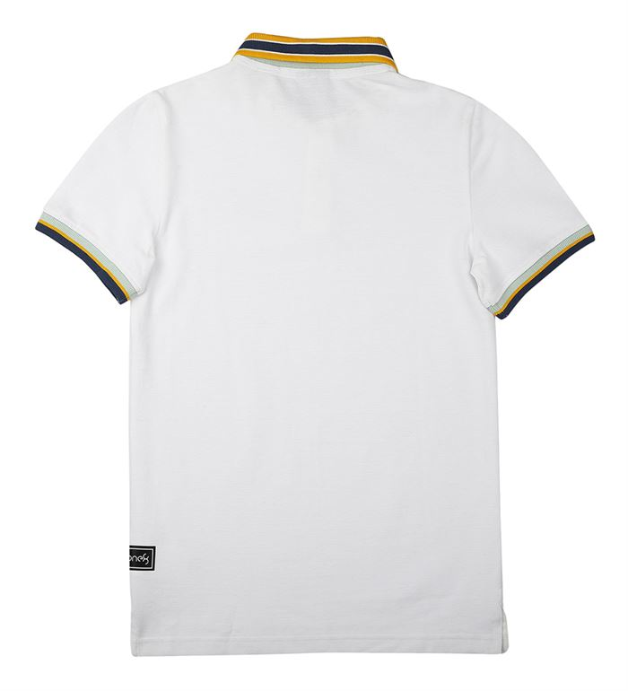 Puma Kids White Casual Wear T-Shirt