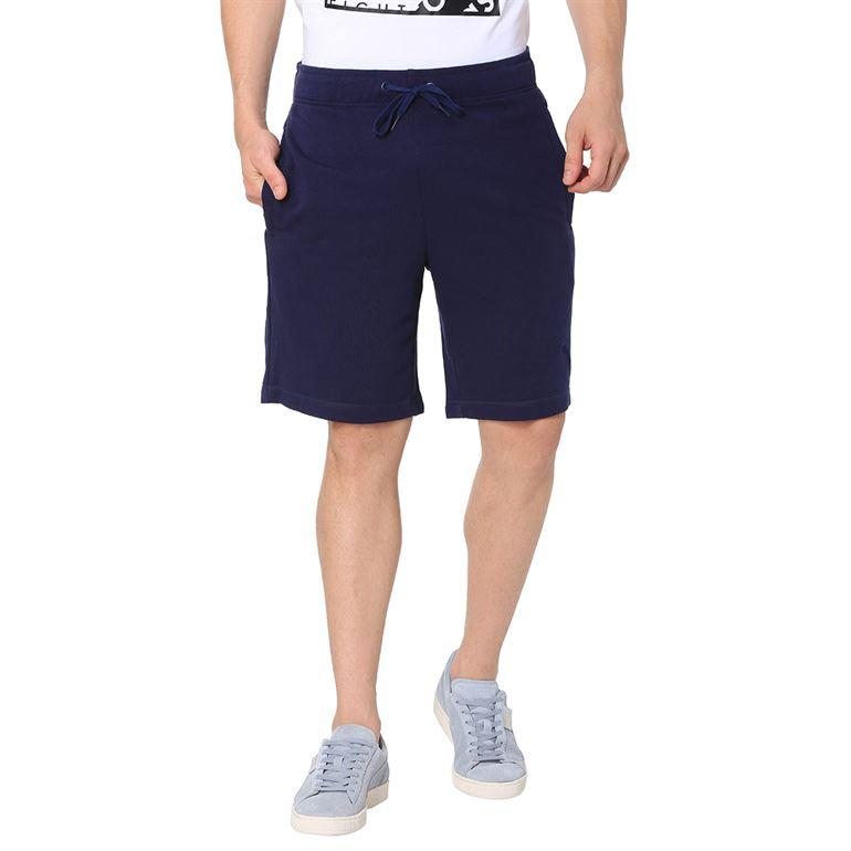 Puma Men Casual Wear Navy Blue Shorts