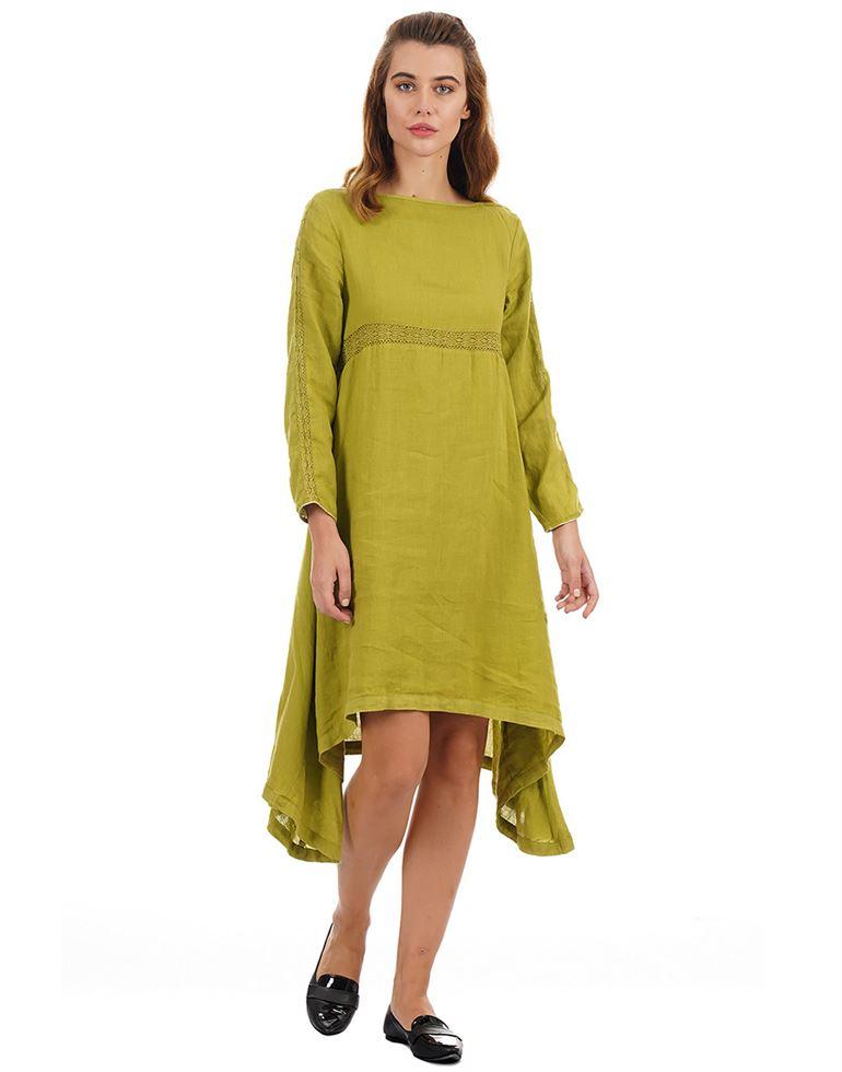 Rareism Women Casual Wear Solid Dress
