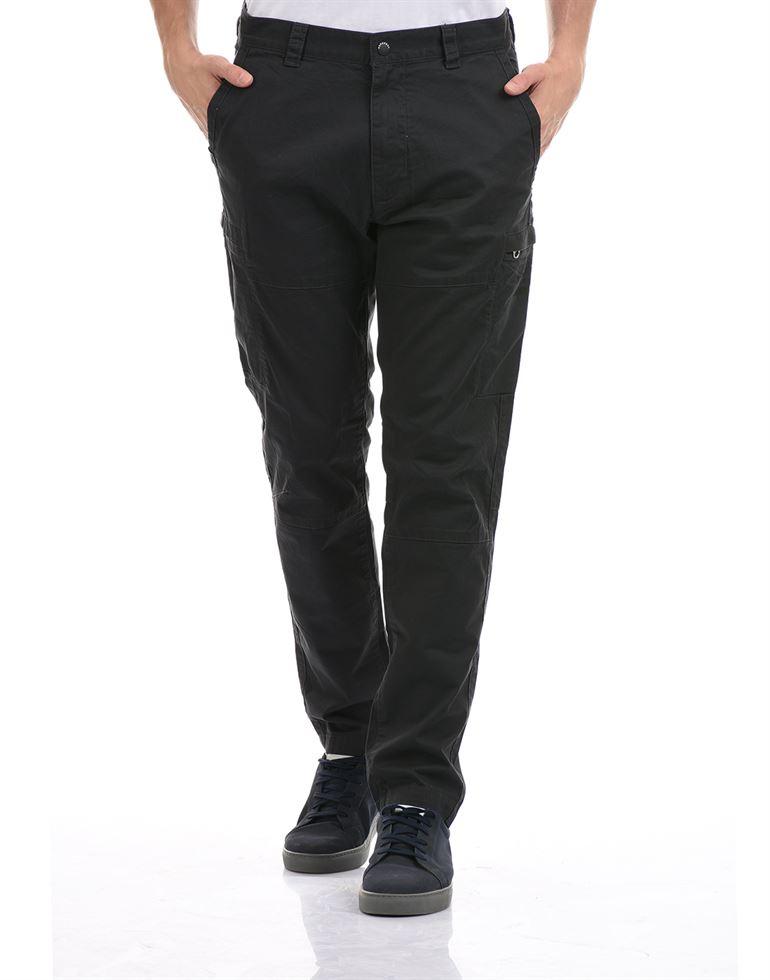 Super Dry Men Casual Wear Black Trouser