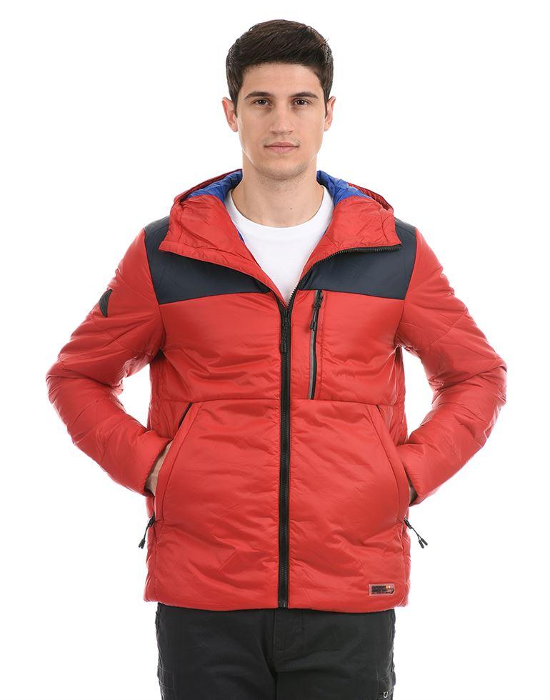 Super Dry Men Casual Wear Red Jacket