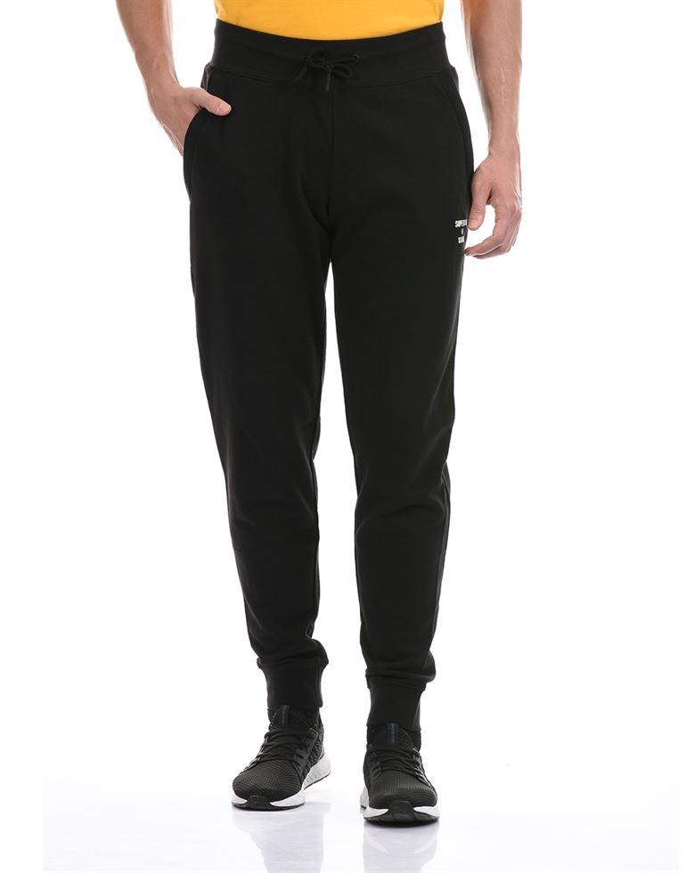 Super Dry Men Casual Wear Black Jogger
