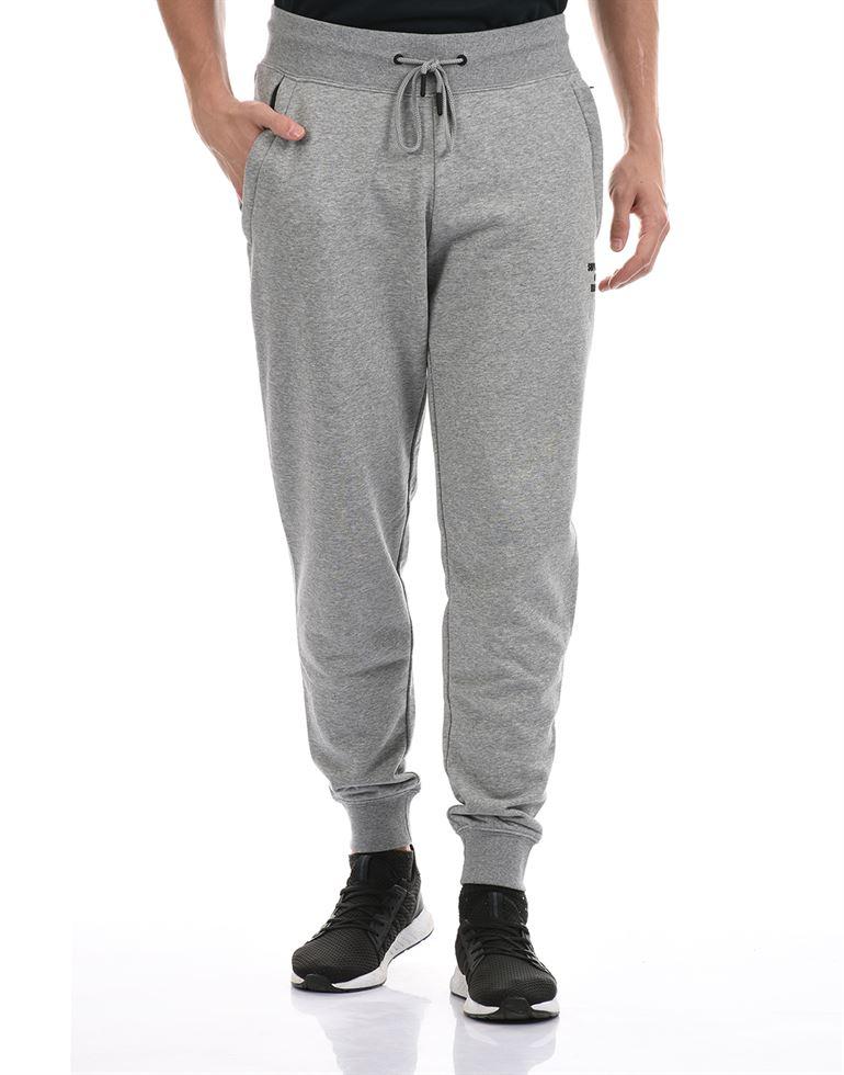 Super Dry Men Casual Wear Grey Jogger