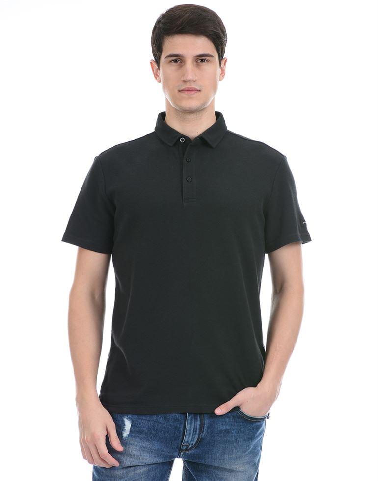 Super Dry Men Casual Wear Dark Grey Polo T-Shirt