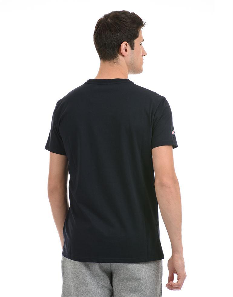 Super Dry Men Casual Wear Navy Blue T-Shirt