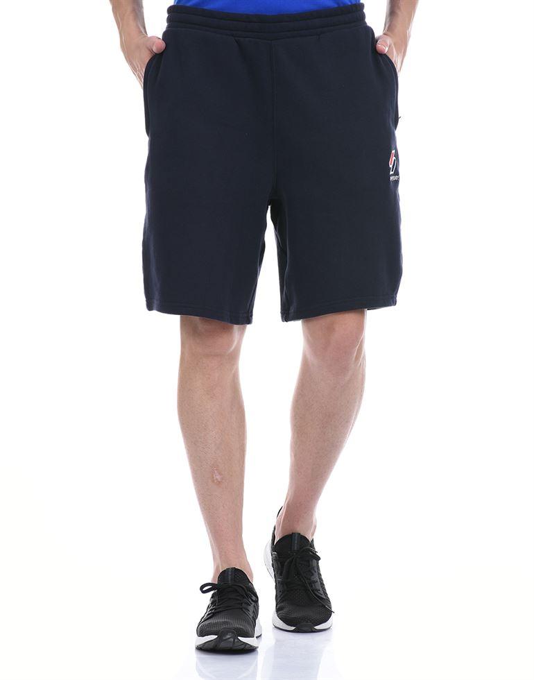 Super Dry Men Casual Wear Navy Blue Basic Shorts