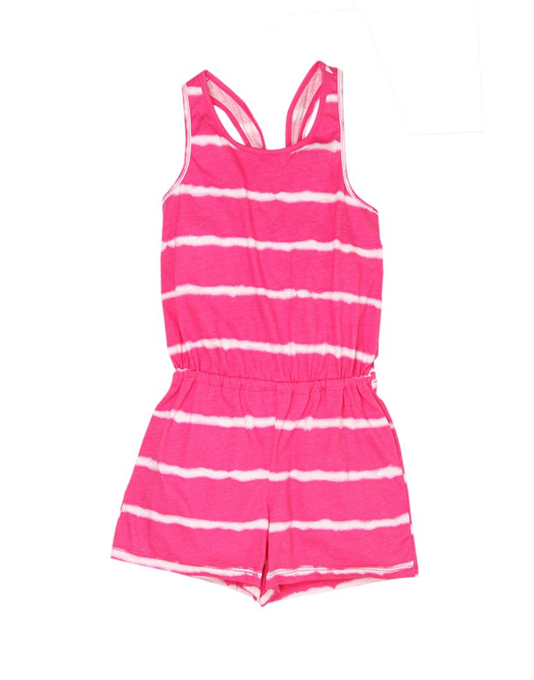 The Children's Place Girls Casual Wear Striped Jump Suit