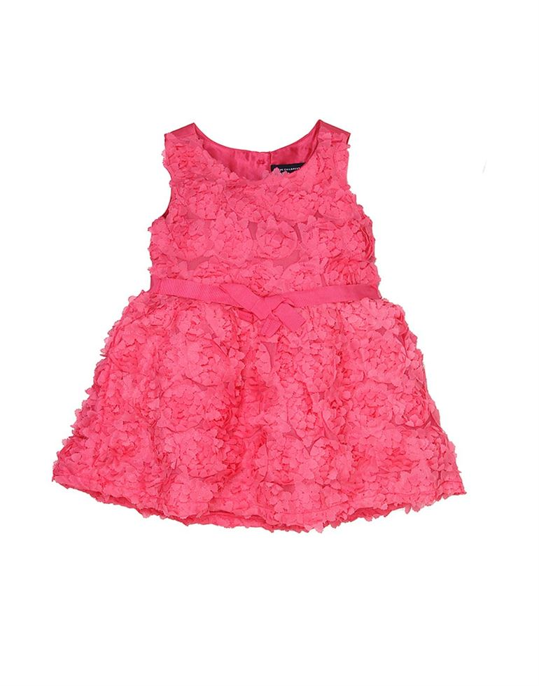 The Children's Place Girls Casual Wear Solid Frock